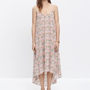 MADEWELL North Shore Dress Electric Stitch XS